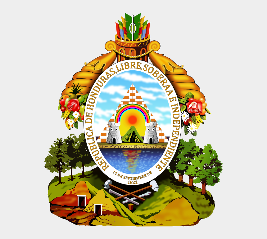 government clipart, Cartoons - Masonic Logo Clip Art - Honduras Emblem
