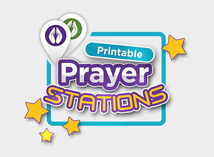 Pray Clipart Sunday School - Prayer Stations For Kids