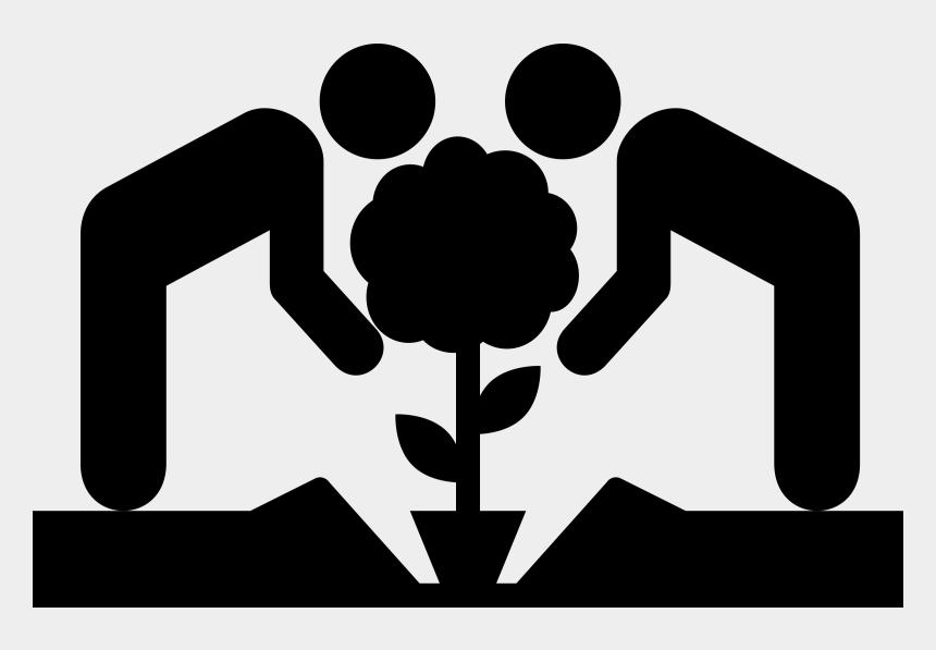 volunteer clipart, Cartoons - 4,086 Community Service Volunteer Cliparts, Stock Vector - Tree Planting Icon Png