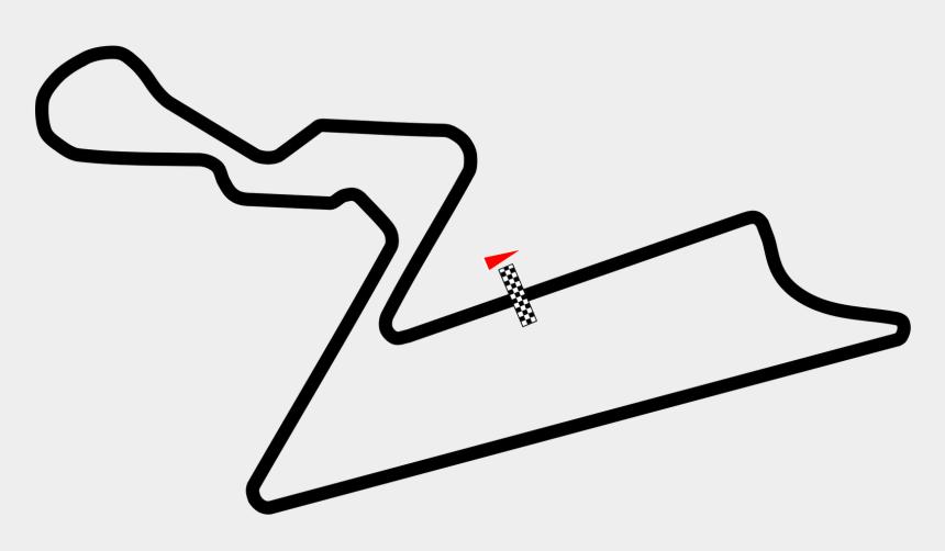 race track clipart, Cartoons - Tire Tracks Vector Png - Indian Grand Prix Circuit