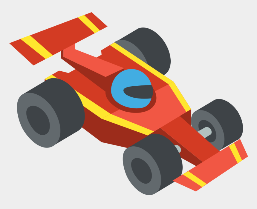 monster truck clipart, Cartoons - File - Emojione 1f3ce - Svg - Race Car Icon Png Clipart - Toy Race Car Png