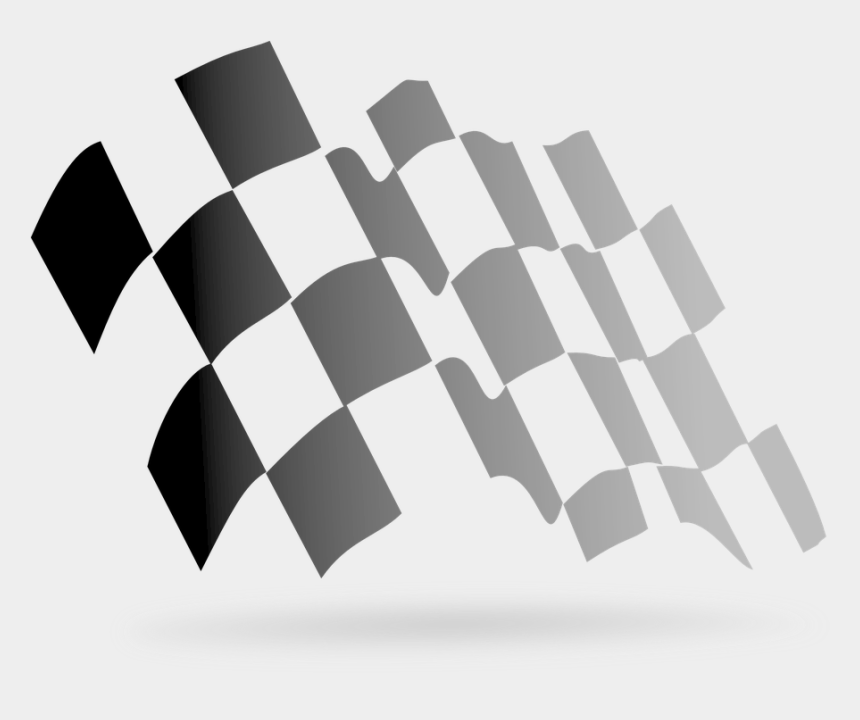 race track clipart, Cartoons - Free Checkered Vector - Checkered Flag Png