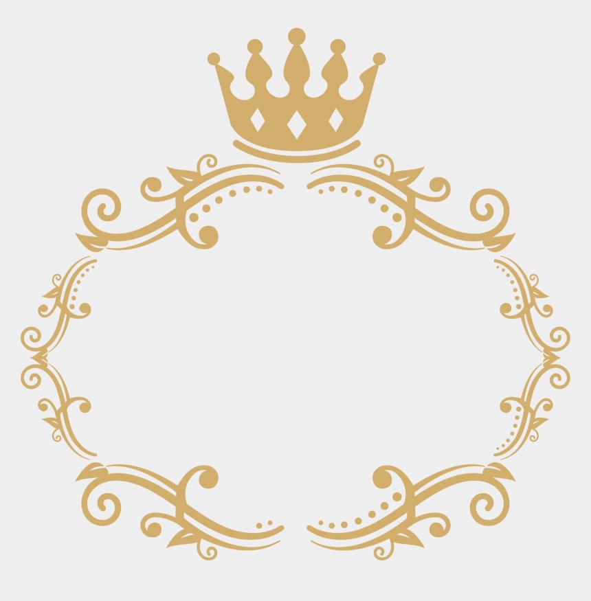 sparkles clipart, Cartoons - Frame 3 - Gold Royal Border Png