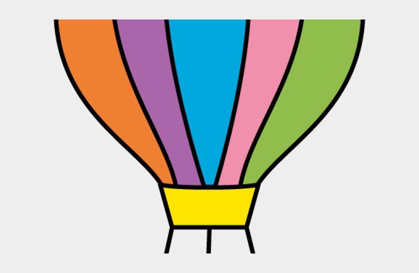 parachute clipart, Cartoons - Clip Art Parachutes - Hot Air Balloon Basket Coloring Page