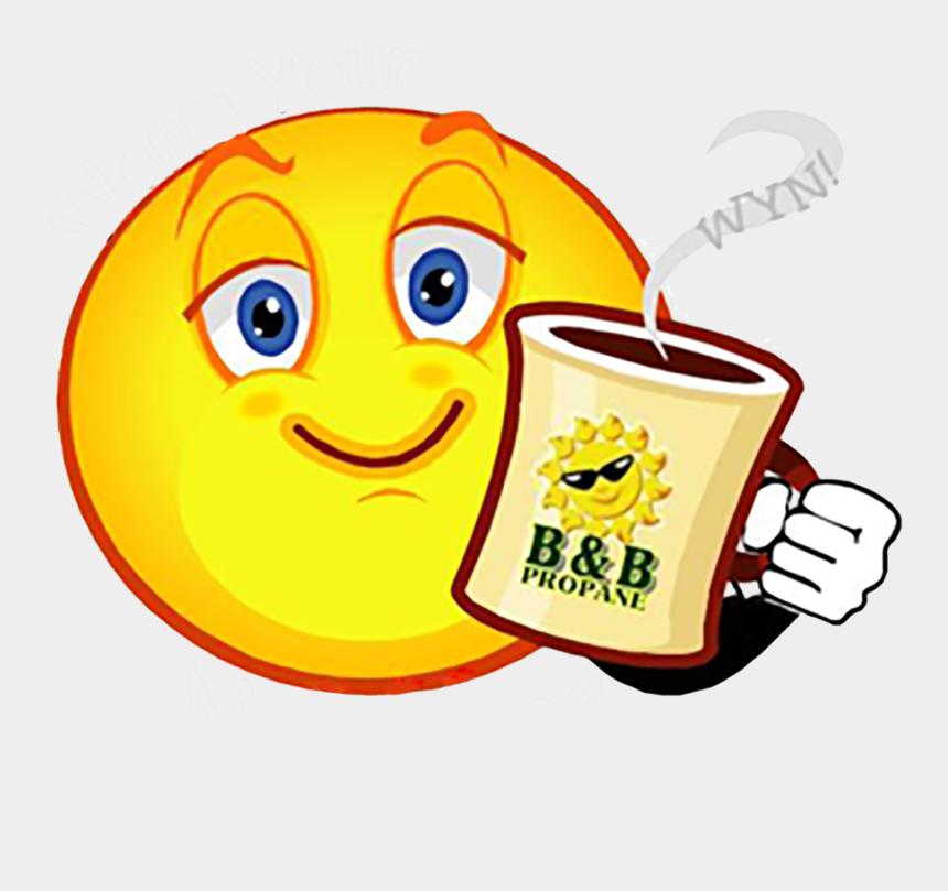 morning clipart, Cartoons - Good Morning Emoji Sticker Clipart - Good Morning French Coffee