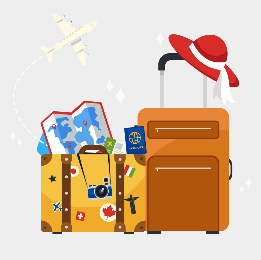 traveling clipart, Cartoons - Travel Png High Quality Image - Transparent Background Travel Clipart
