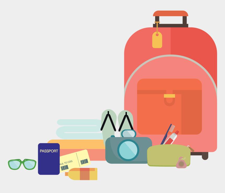traveling clipart, Cartoons - Travel Clip Art - Clip Art Travel Customs Transparent