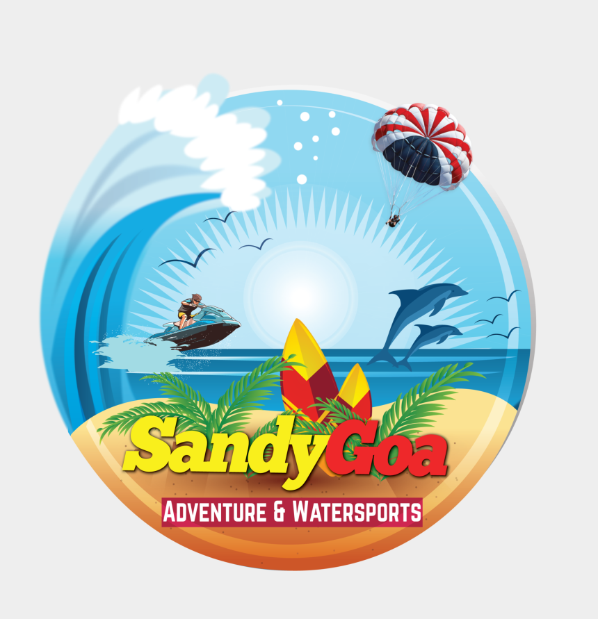 traveling clipart, Cartoons - Sandygoa Travels Clipart , Png Download - Graphic Design