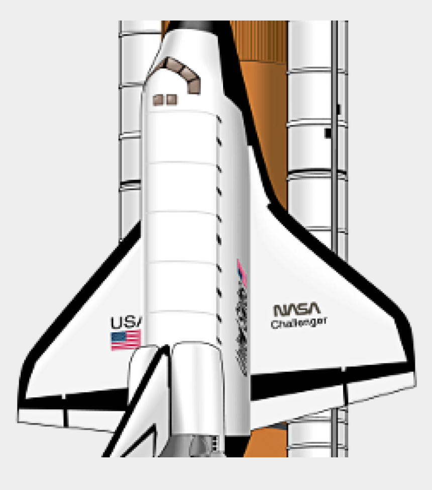 space shuttle clipart, Cartoons - Challenger Space Shuttle Png