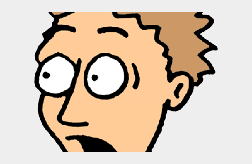 fear clipart, Cartoons - Expression Clipart Fear Expression - Frightened Face