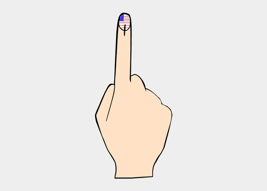 voting clipart, Cartoons - Collection Of Vote Finger High Quality Ⓒ - Election Mark On Finger Png