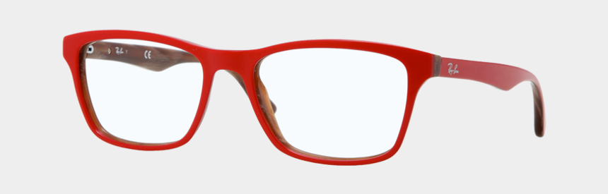 red glasses clipart, Cartoons - Glasses Png - Red Ray Ban Glasses Frames