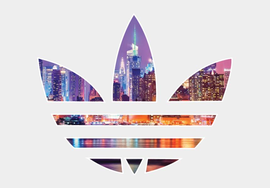 adidas clipart, Cartoons - T Shirt Trefoil Originals Adidas Free Hd Image - First Ever Adidas Logo