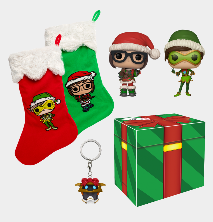 peanuts characters christmas clipart, Cartoons - Christmas Exclusive Collector Box - Overwatch Winter Wonderland Box