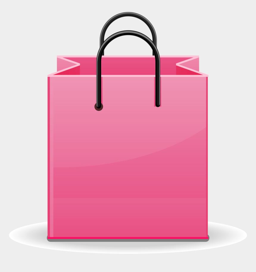 christmas gift bag clipart, Cartoons - Gift Bags Png - Shopping Bag Clip Art Pink