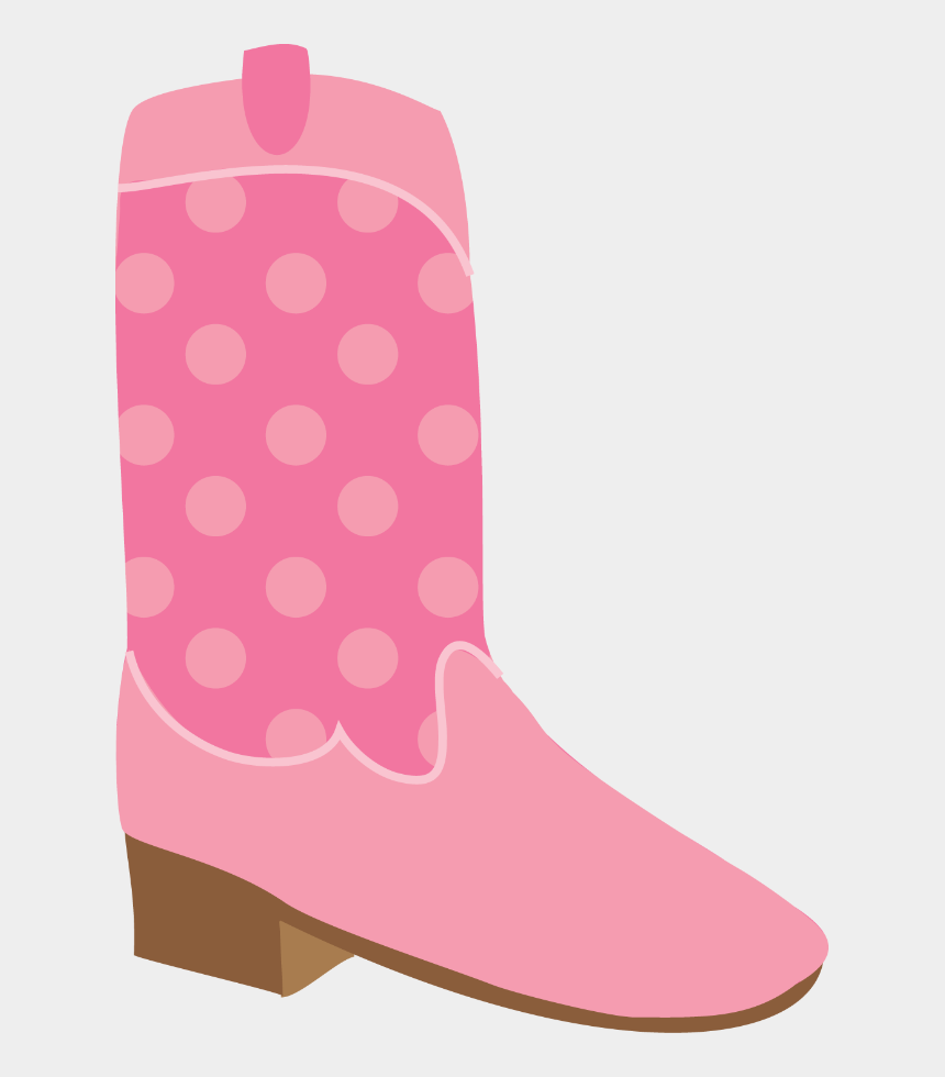 pink cowboy boots clipart, Cartoons - Cowboy E Cowgirl - Work Boots