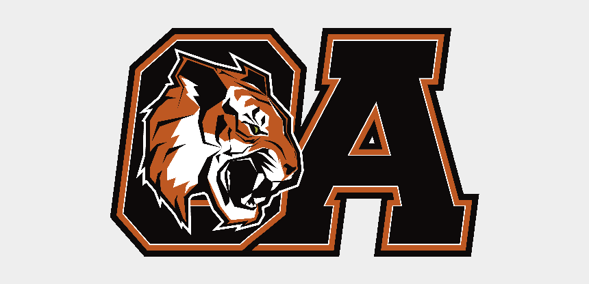high school sports clipart, Cartoons - Combined Fullcolor - Oliver Ames High School Logo