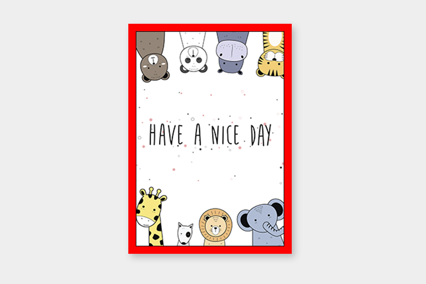 have a nice day clipart, Cartoons - Have A Nice Day - Cartoon