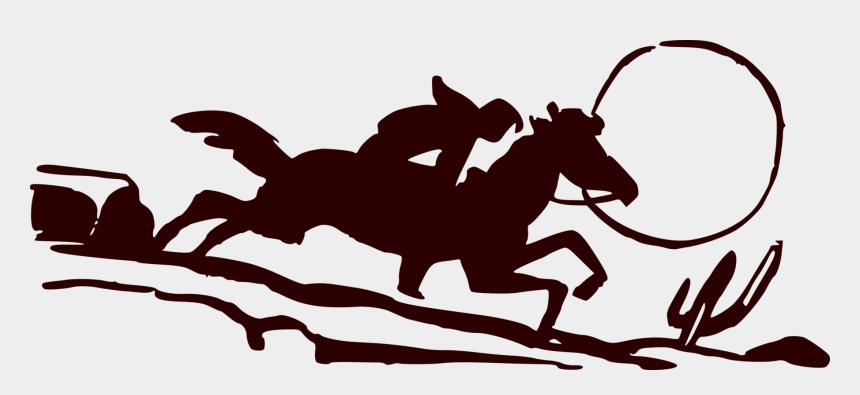 cowboy riding horse clipart, Cartoons - Mustang Equestrian Rein Cowboy Pony - Equestrianism