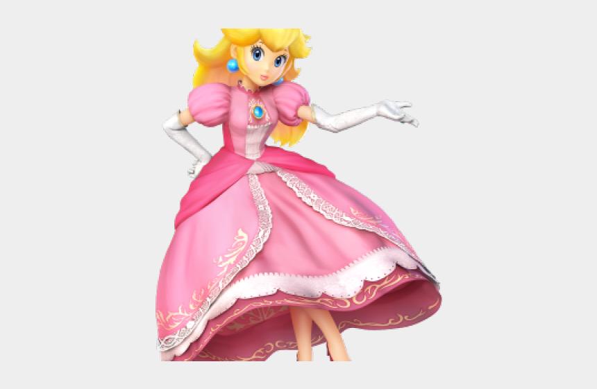 princess peach crown clipart, Cartoons - Princess Peach Clipart Wii U - Super Mario Smash Bros Peach