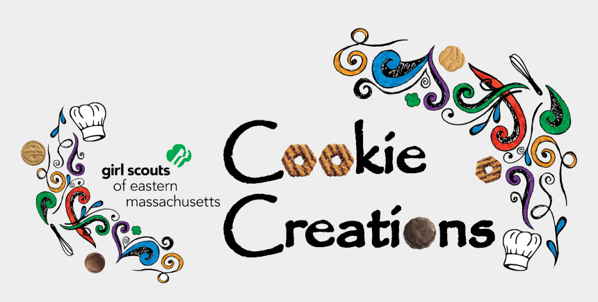 girl scout cookies 2015 clipart, Cartoons - Cookie Creations