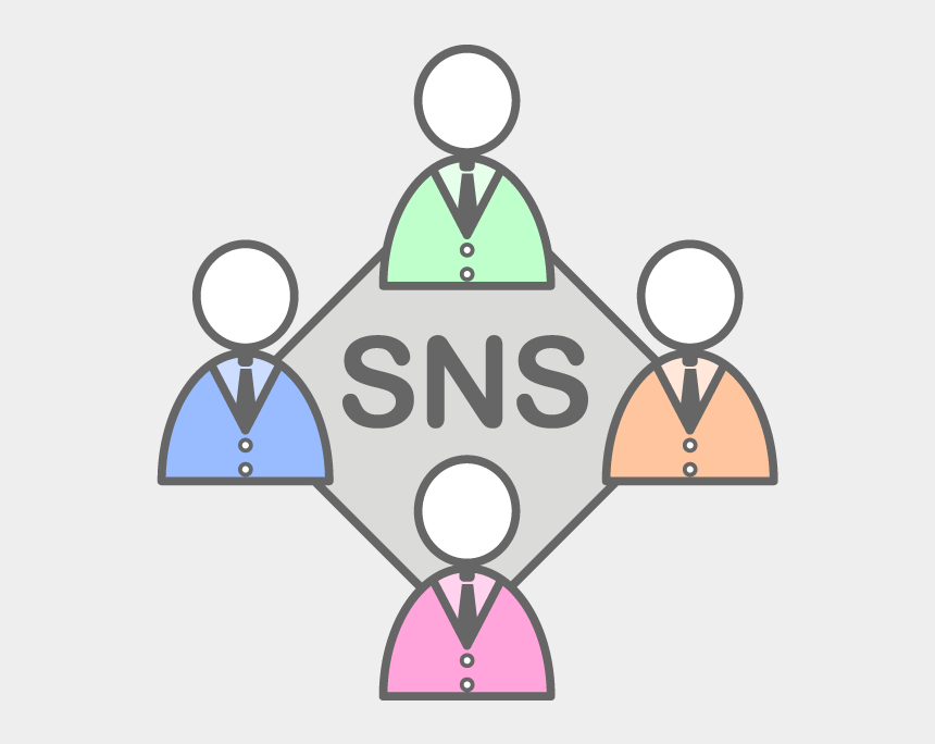 business networking clipart, Cartoons - View All Images-1 - Sns 無料 イラスト