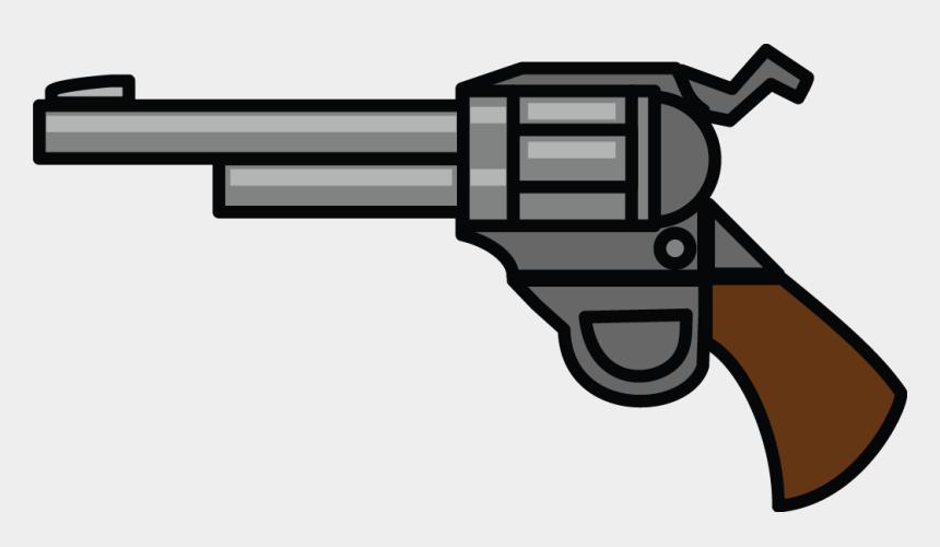 smoking gun clipart, Cartoons - Guns Clipart 9mm - Trigger