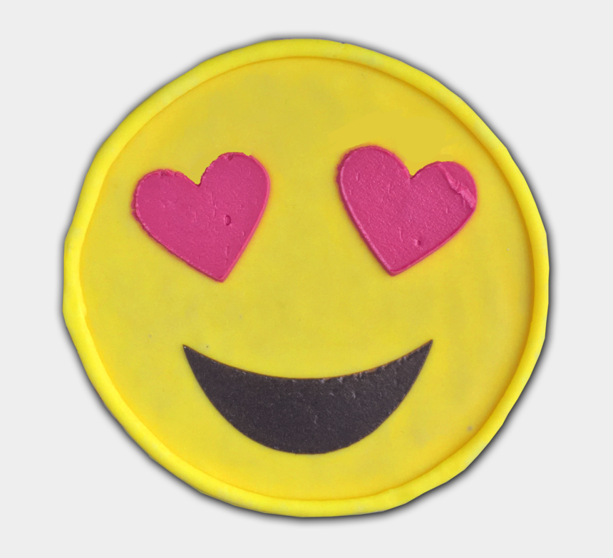 smiling heart clipart, Cartoons - Heart Face Emoji Png - Emoji Pillow Pink Heart Eyes