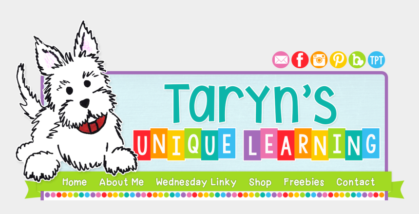 magnetic letters clipart, Cartoons - Taryn's Unique Learning - West Highland White Terrier
