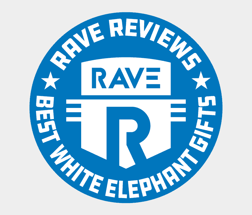 white elephant party clipart, Cartoons - Rave Reviews Has What You Need To Sleigh Your Next - Circle