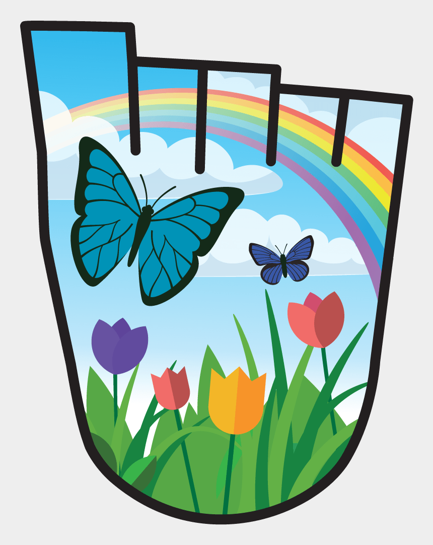 walk to school clipart, Cartoons - April 2019 Wow Badge Wild Flowers - Living Streets Badges