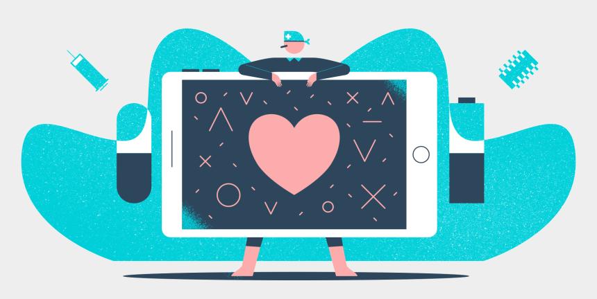 doctor head mirror clipart, Cartoons - Health - Heart