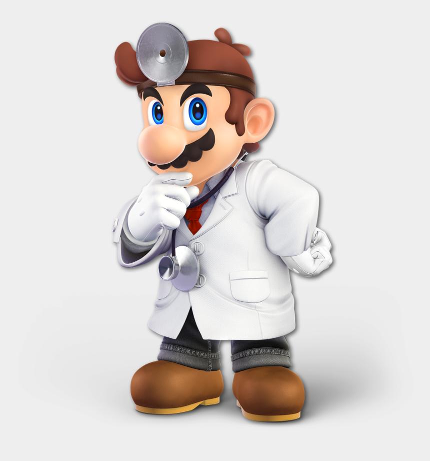 doctor head mirror clipart, Cartoons - Smashwiki Β - Dr Mario Smash Ultimate Render