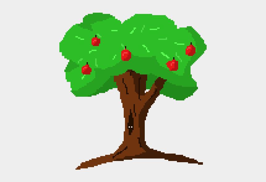 green apple tree clipart, Cartoons - Apple Tree - Comic Bäume