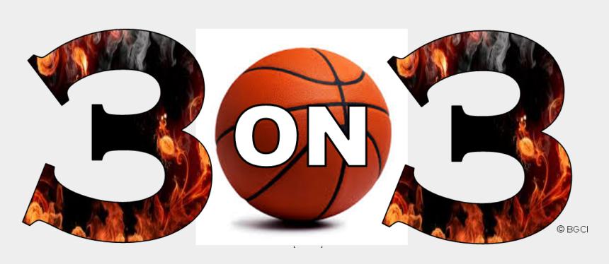 3 on 3 basketball clipart, Cartoons - 3 On 3 Basketball League - 3 V 3 Basketball Logo