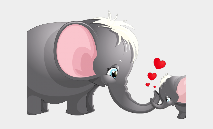 plymouth rock clipart, Cartoons - Boulder Clipart Elephant - Elephant Mom Baby Png
