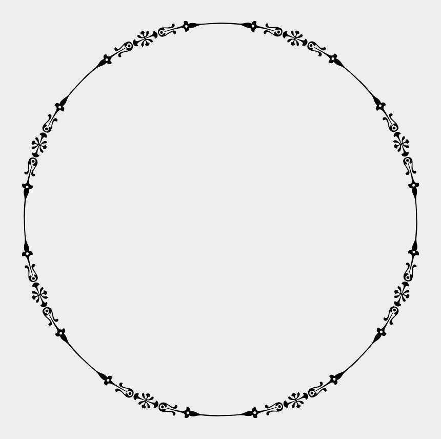 circle with line through it clipart, Cartoons - Sticker Computer Icons Circle Decorative Arts - Transparent Circle Border
