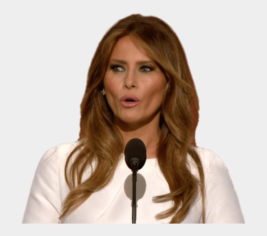 trump clipart png, Cartoons - Politics - Michelle Obama Vs Melania Trump Side By Side