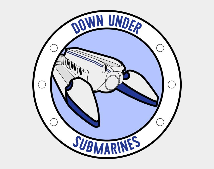 underwater submarine clipart, Cartoons - Downunder Submarines Pty Ltd - Airman Leadership School Logo