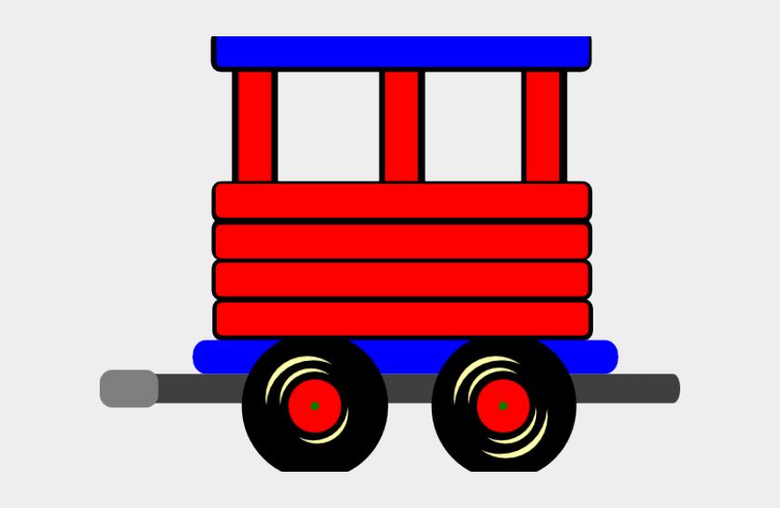 train wheel clipart, Cartoons - Train Caboose Clipart