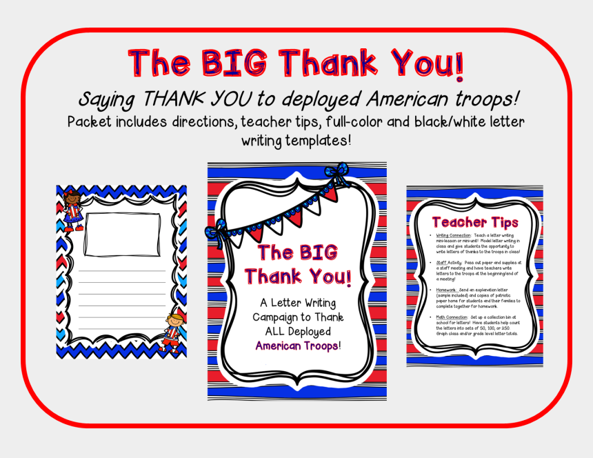 thank you letter clipart, Cartoons - The Big Thank You Project - Big Thank You Letter