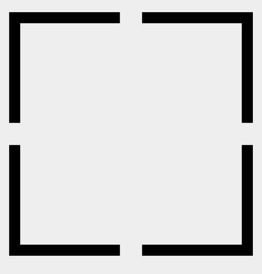 geometric shape clipart, Cartoons - Square Shape Of Four Angles Comments - Monochrome