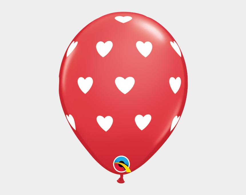 heart shaped balloons clipart, Cartoons - Valentine's Day Balloons - 76928 Qualatex