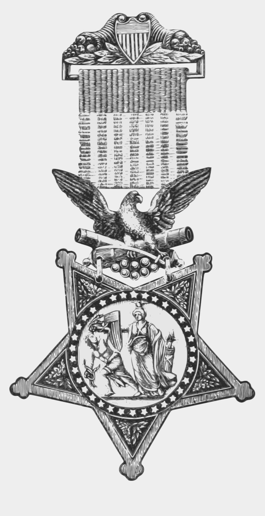 medal of honor clipart, Cartoons - History Clipart Historical - Medal Of Honor Drawing