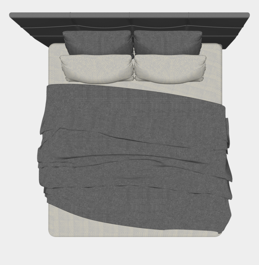 bed top view clipart, Cartoons - Free Png Top View- Trees, Cars, Landscape, Furniture, - Bed Png Top View