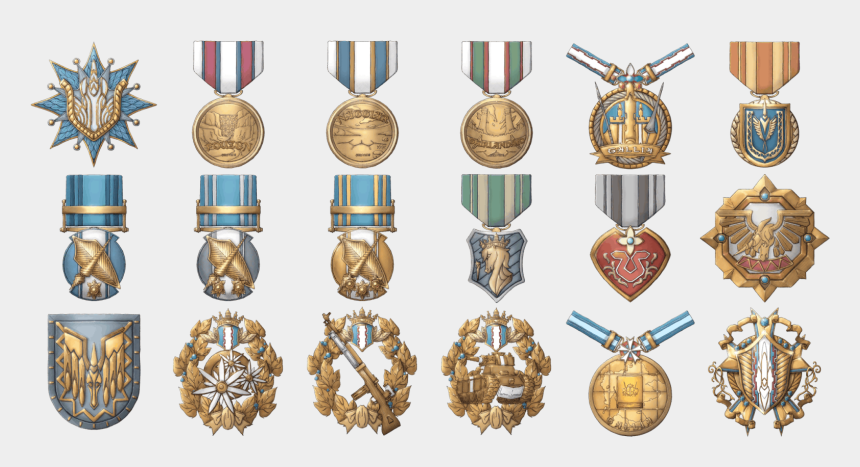 medal of honor clipart, Cartoons - Image Medals Png Valkyria Wiki Fandom Powered Ⓒ - Military Awards Png
