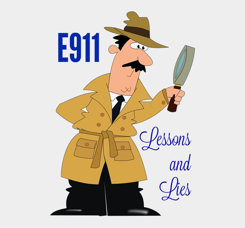 911 dispatcher clipart, Cartoons - Detective Png