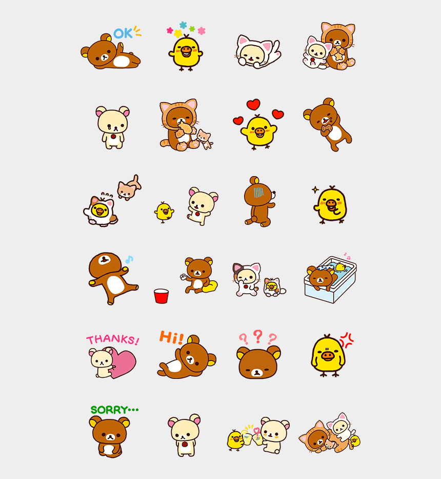 rilakkuma clipart, Cartoons - Px Kawaii Stickers, Cute Stickers, Rilakkuma, Cute - Stickers Rilakkuma