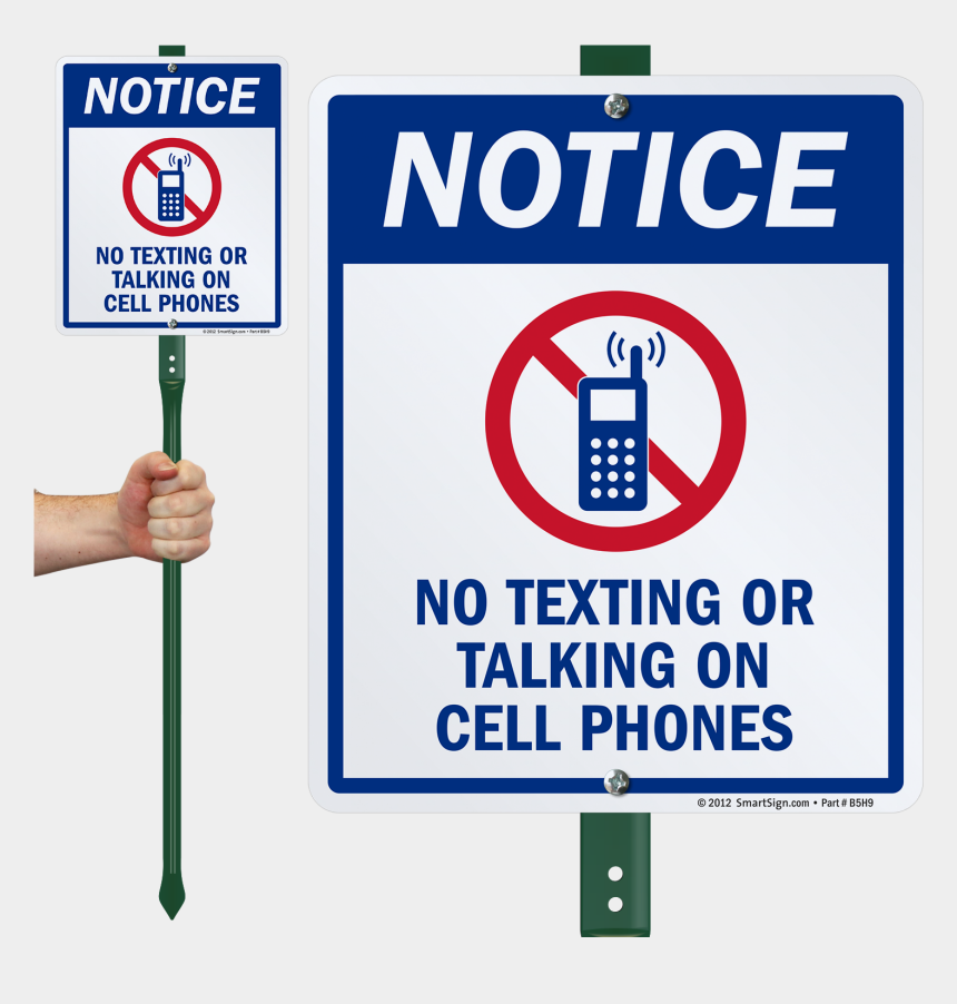 cell phone texting clipart, Cartoons - Zoom, Price, Buy - Do Not Pick Flowers Sign