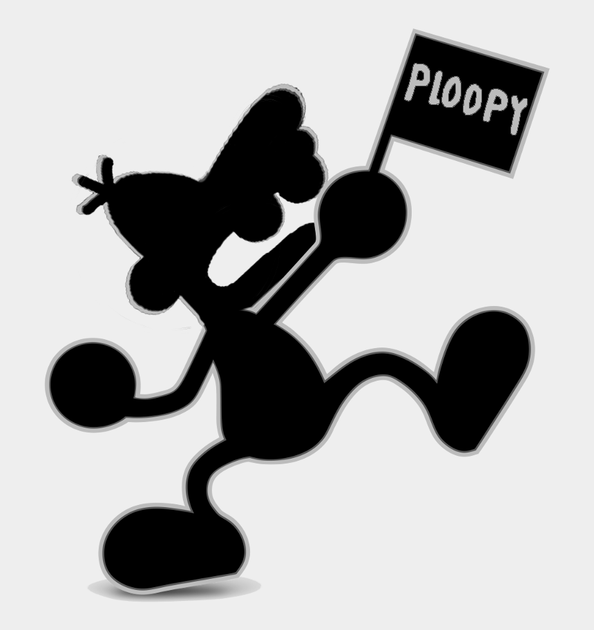 mr. & mrs. clipart, Cartoons - Ploop & Watchzoo - Mr Game And Watch Smash Ultimate